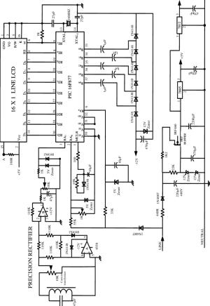 Circuit diagram of the Digital Multimeter (DMM) | Download