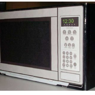 new microwave prototype in use