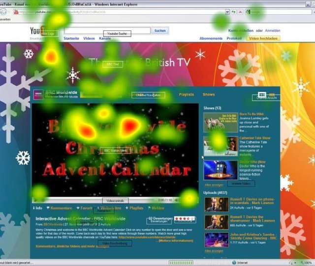 Abbildung 13 Bbw World Screenshot Mit Heatmap Der Kumulierten Fixationen Aller Probanden Erste 2 Sec