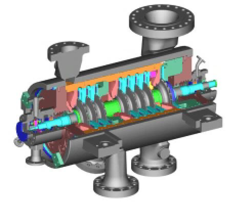 dresser rand datum multi stage centrifugal compressor