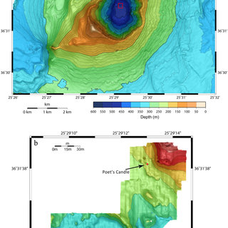 | Bathymetric maps for Kolumbo Volcano and hydrothermal ...
