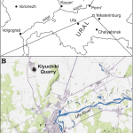 Maps Of Ural A And Krasnoufimsk Area B Source Of The Map From Download Scientific Diagram