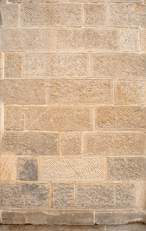 Ashlar Indents Cut To Fit And Tooled To Match Existing Masonry Fig 7 Download Scientific Diagram