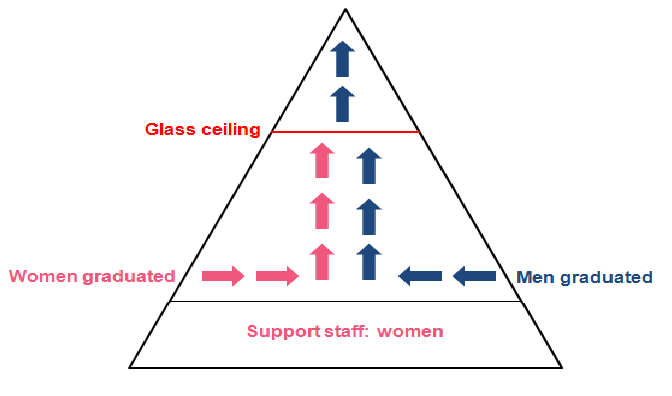 Figure Of Glass Ceiling