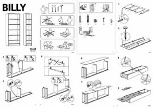 Istruzioni di montaggio dei mobili Ikea | Download