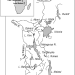 Map Of Eastern Africa Showing The Location Of The Great Lakes And The Download Scientific Diagram