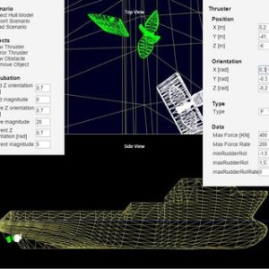 Houxiang Zhang   Ph D   Norwegian University of Science and     Fig  2  Screenshot of ship maneuvering scenario editor