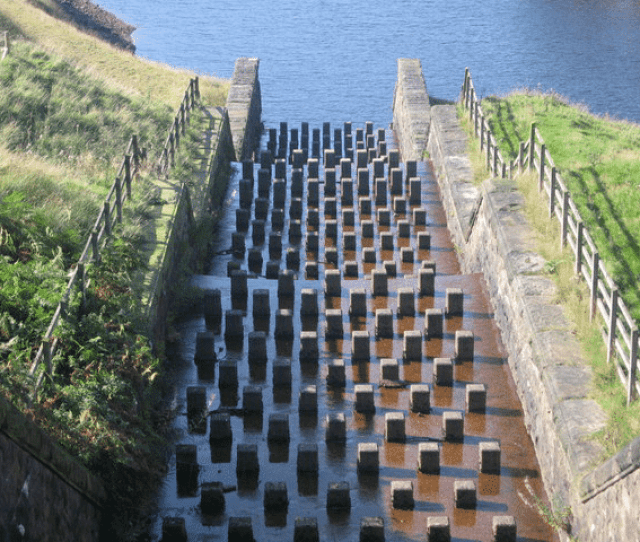Baffled Spillway With Concrete Block Baffles Located At Yeoman Hey Download Scientific Diagram