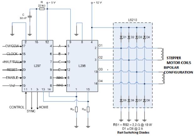l298 stepper motor driver circuit automotivegarage org