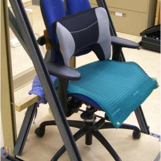 lumbar support pillow on lumbar posture