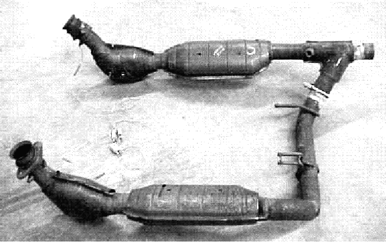1999 oem ford expedition exhaust system