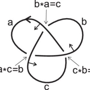 Generators and relations of the fundamental quandle of the trefoil knot | Download Scientific
