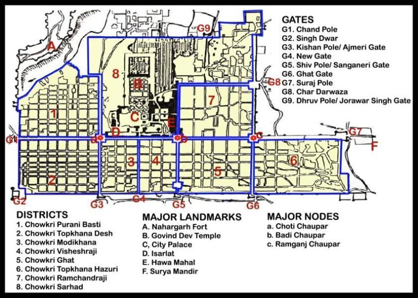 Image result for grid plan in jaipur