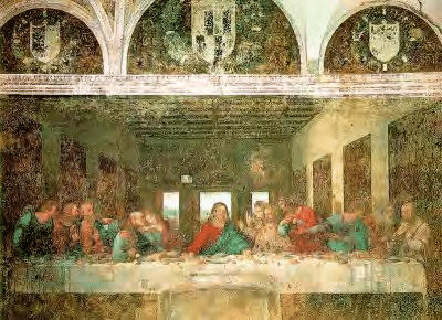 9 Leonardo Da Vinci The Last Supper 1495 8 Fresco