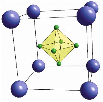 Znalezione obrazy dla zapytania CaB6 crystal structure