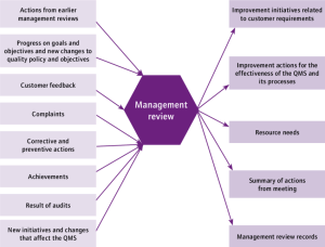 Schematic of management review process | Download