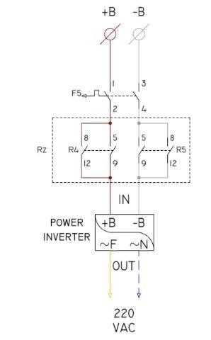 wiring diagram of power inverter  download scientific diagram