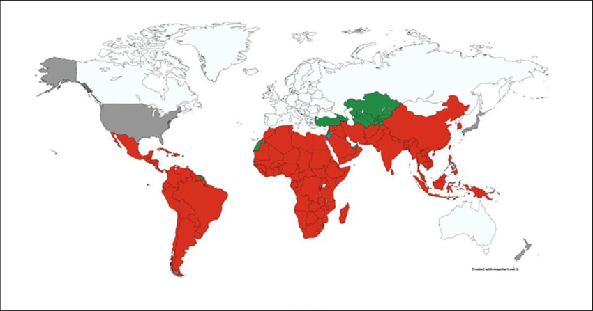 Map Leprosy Colonies