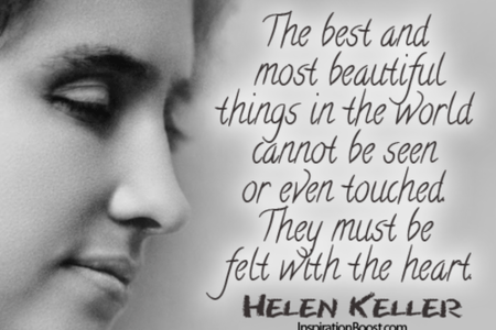 Helen keller quotes new picture helen keller quote about beautiful vintage helen keller quote rubber stamp helen keller etsy the best and most beautiful things must be felt with the heart helen keller quotes and quotations altavistaventures Image collections