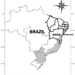 Map Of The Northeast Region Of Brazil Highlighting The State Of Bahia Download Scientific Diagram