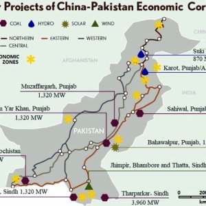 map showing major projects of china pakistan economic corridor 13 14 download scientific diagram