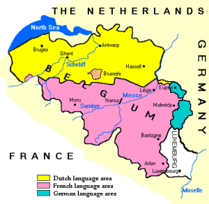 Belgium_Language Map