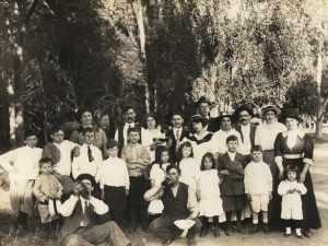 A French picnic in Oakland, California ca 1910
