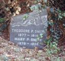 Theodore P. Smith 1877-1914; Maria P. Smith 1878-1938