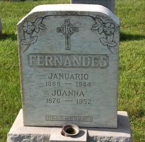 Joana and Januario Fernandes