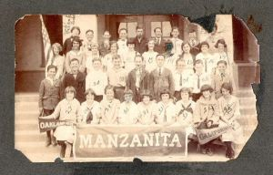 1924 Manzanita School Class Photo