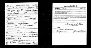 wwi draft cd pacheco theodore francisco son