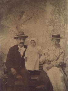 Mazeres family ca 1900