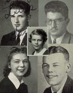Koch and Garibaldi Yearbook Photos