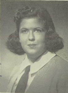 Charlotte Newman Yearbook Photo