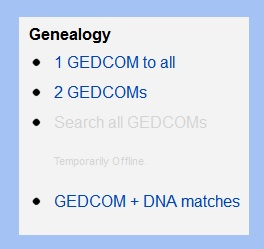 You can see which DNA matches have uploaded a GEDCOM file at GEDMatch.com