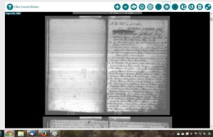 This is the main page of the first register book for Kiltomb, Roscommon