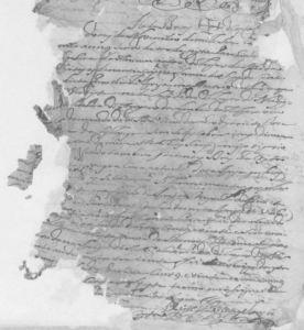 Portuguese marriage record 1725