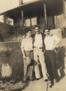 Joe Braga with his Pacheco Smith cousins ca 1929 on E. 25th Street