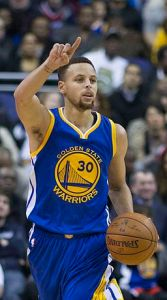 Stephen Curry, MVP, By Keith Allison from Hanover, MD, USA (Stephen Curry) [CC BY-SA 2.0], via Wikimedia Commons