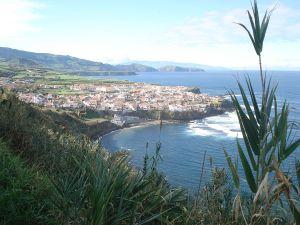 Village of Maia Ribeira Grande Azores
