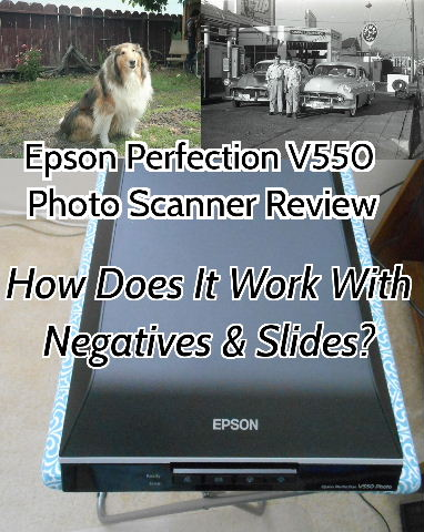 Epson Perfection V550 Photo Scanner Scans Negatives, Too!