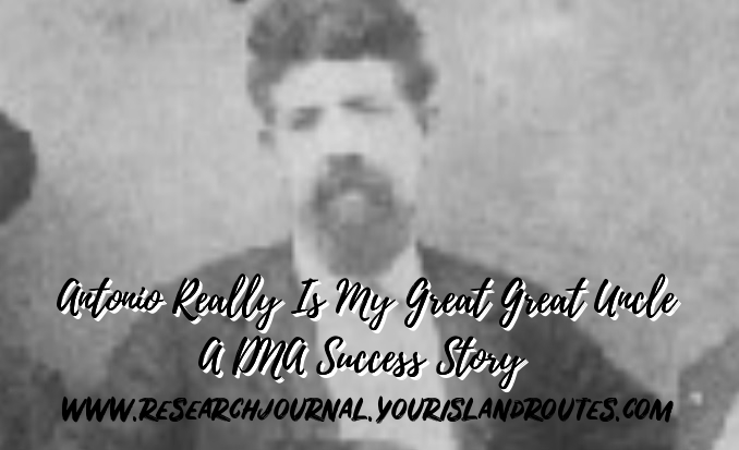 dna stories great great uncle