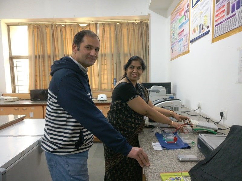 Gad with Dr. Rajni Singh