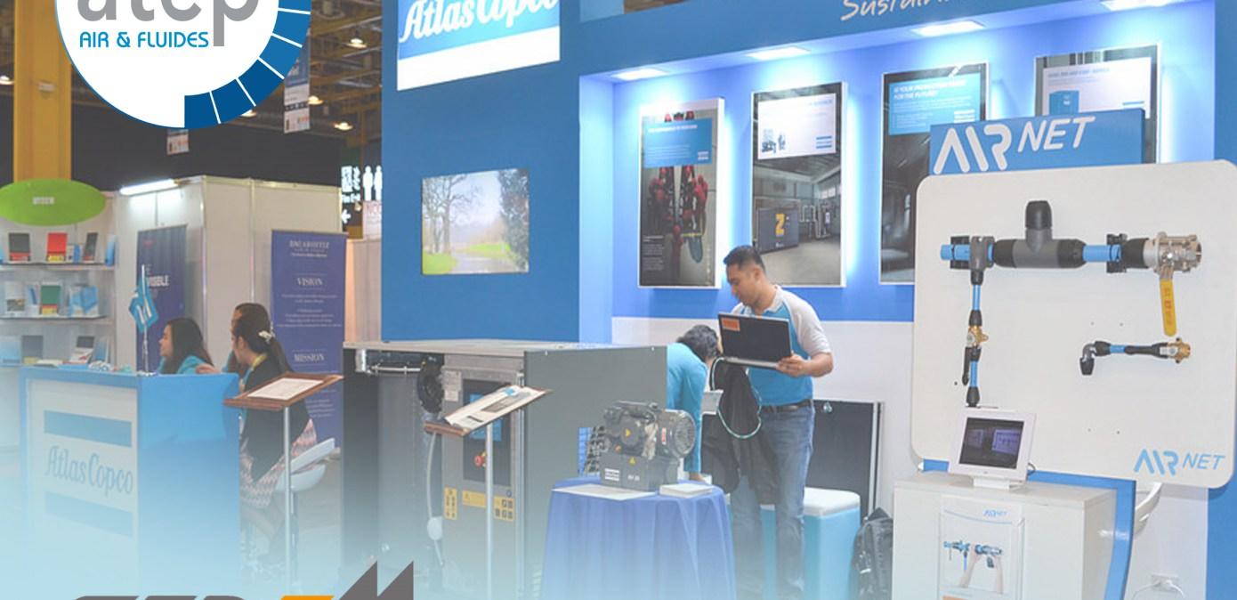 Airnet au salon sepem industrie d 39 avignon tuyauterie for Industrie salon