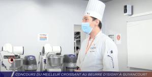 Concours du meilleur croissant au beurre d'Isigny au lycée de Saint-Quentin-en-Yvelines