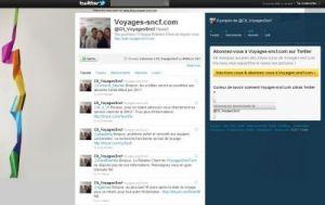 La SNCF met sa relation client à la sauce Twitter