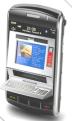 a imagem mostra uma alusão de como seria um caixa bancario em um celular