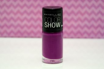 Resenha: Esmalte Color Show Purple Splash da Maybelline