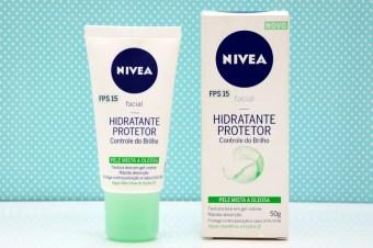 Resenha: Hidratante Facial Protetor Controle de Brilho Nivea