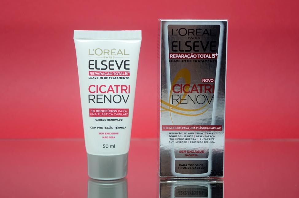 Leave-in de Tratamento Cicatri Renove Elseve Reparação Total 5+